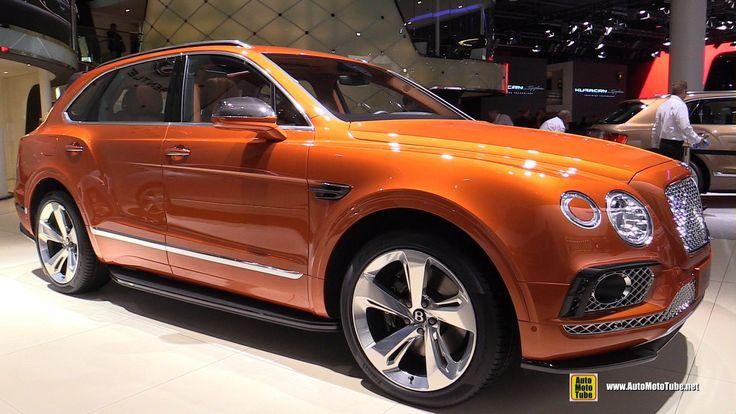 Burnt Orange Bentley SUV Gorgeous 2017 Bentley Bentayga ...