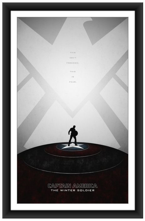 Fantastic Fan Art Posters Inspired By CAPTAIN AMERICA: THE WINTER SOLDIER - by Khoa Ho