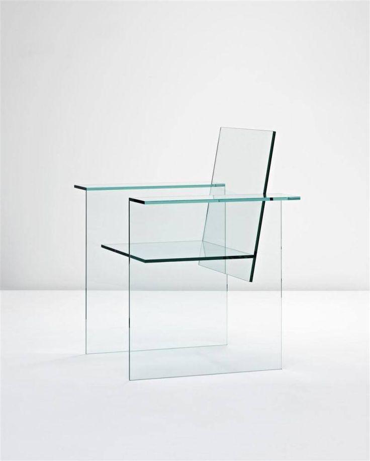 Glass Chair, Shiro Kuramata