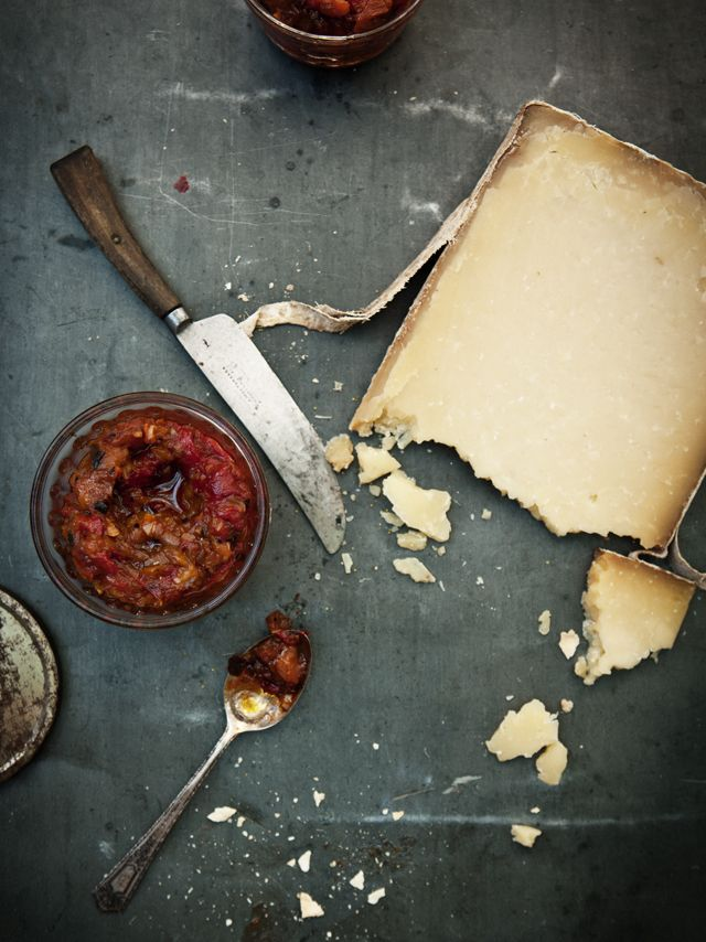 Roasted Capsicum & Eggplant Chutney | What Katie Ate