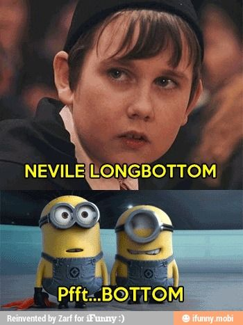Funny Neville Longbottom Minions Joke   Funny Meme, Pictures And Quotes