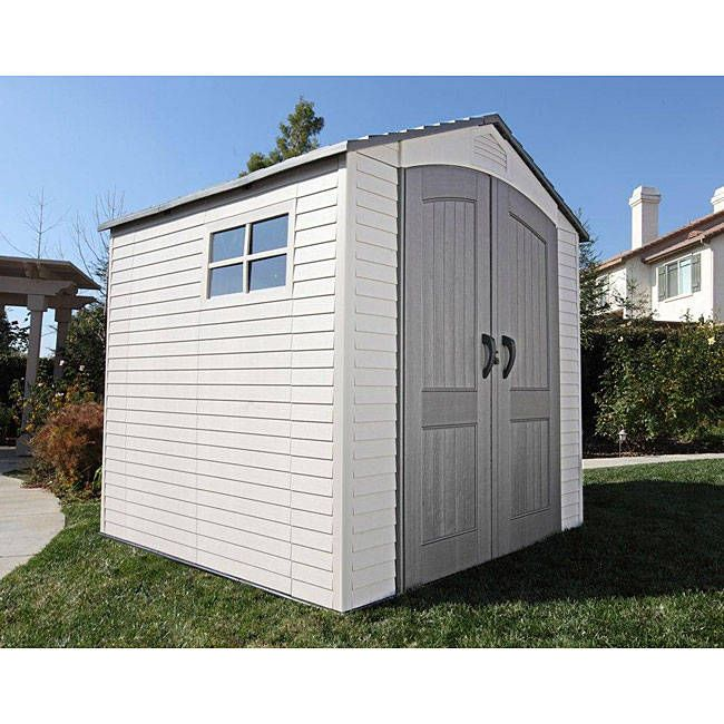 Lifetime Deluxe Storage Shed