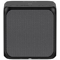 Sony SRS-X11 Speaker System - 10 W RMS - Portable - Battery Rechargeable - Wireless Speaker(s) - Black - 20 Hz - 20 kHz - Bluetooth - Near Field Communication - USB - Sub Band Coding (SBC), Passive Radiator, Wireless Audio Stream, Built-in Microphone