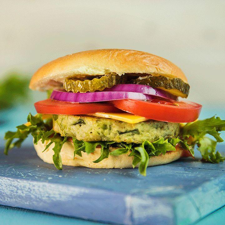 Vegetar-cheeseburger med cheddar | EXTRA -