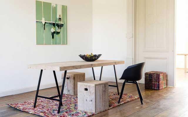 M s de 25 ideas incre bles sobre mesas de caballete en - Mesa despacho ikea ...