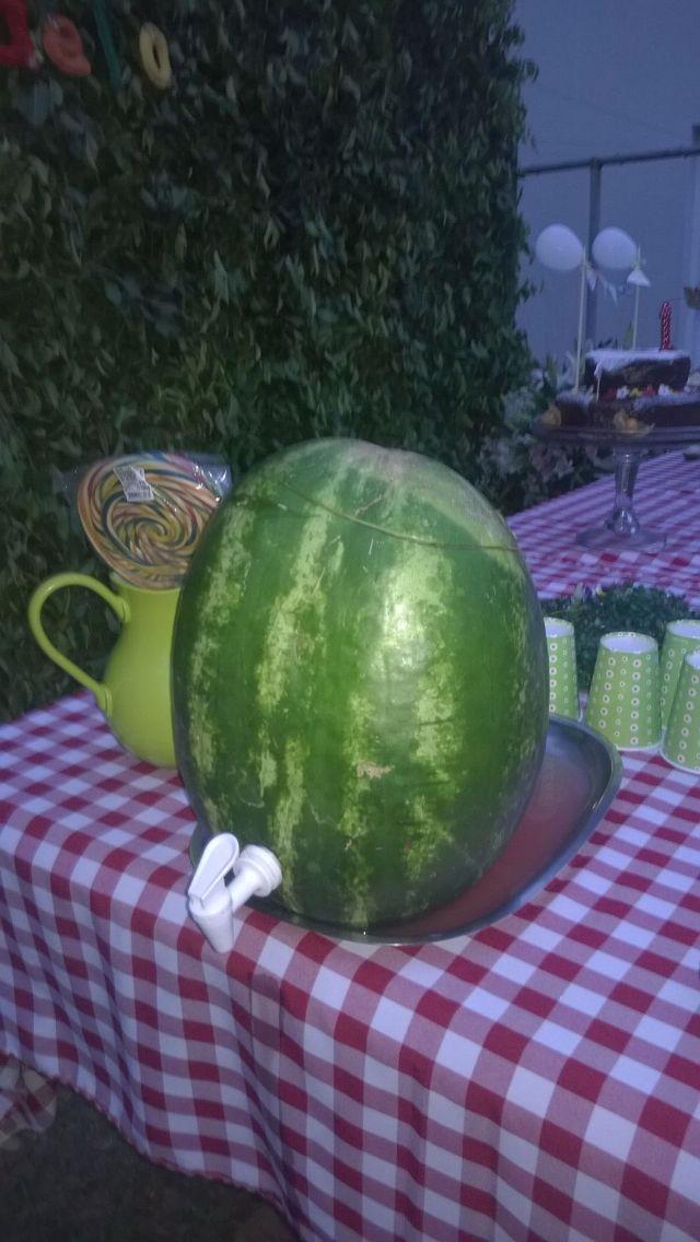 Ideia. Suco de melancia