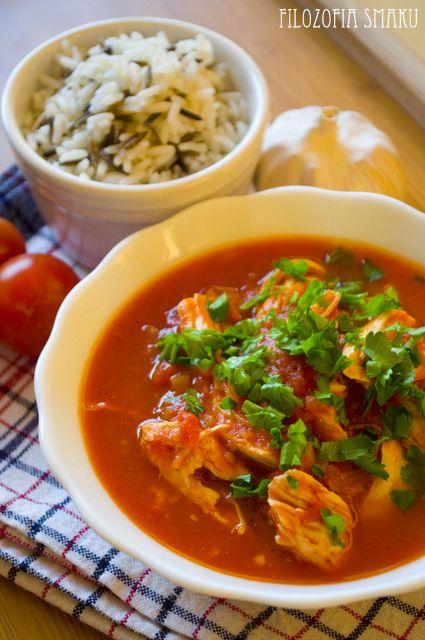 Meksykański gulasz z kurczakiem