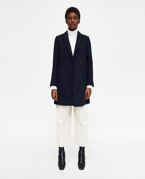 Image 6 of TOMBOY COAT from Zara