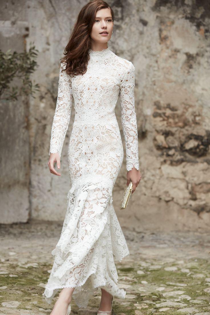 BHLDN vestido de noiva de renda
