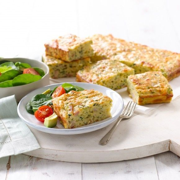 Collect this Zucchini & Bacon Slice recipe by Western Star. MYFOODBOOK.COM.AU | MAKE FREE COOKBOOKS