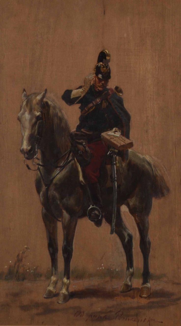 "Kossak Wojciech (1856-1942) ""Podarunek"""