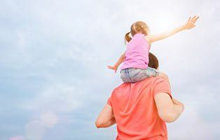 A Piggyback from Daddy is Priceless