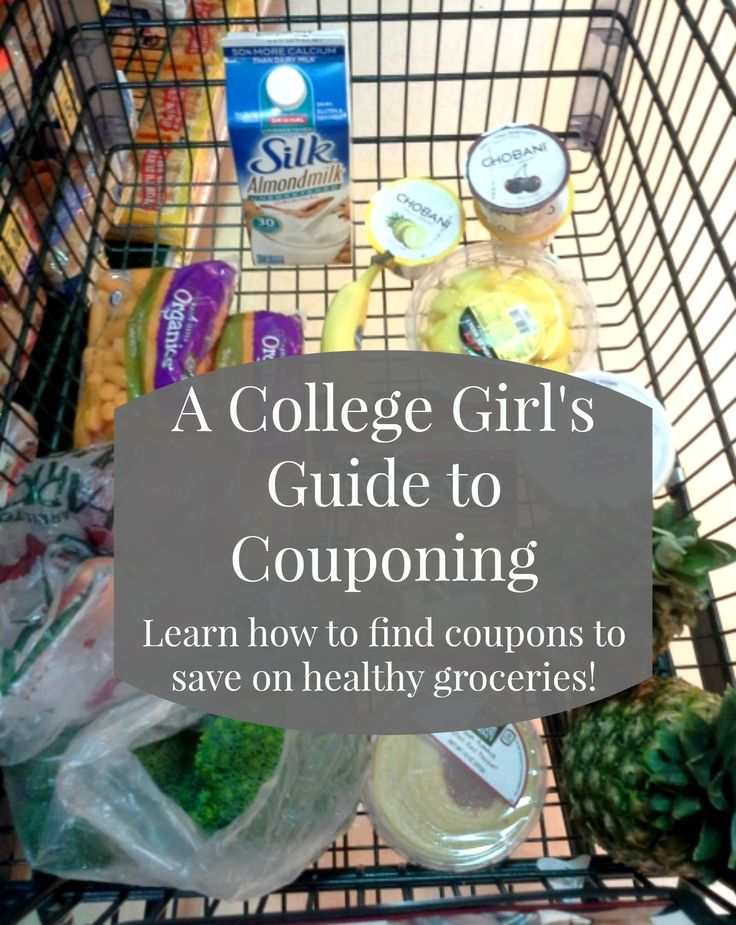 Some easy tips and tricks for saving money on groceries in college! (college girl's guide to couponing)