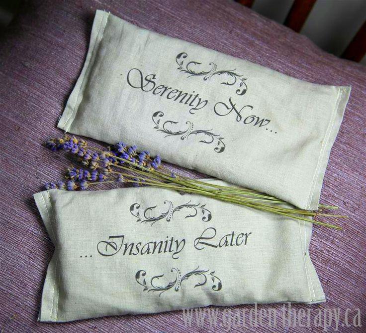 lavender eye bag tutorial