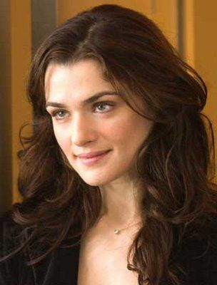 Racehl Weisz- If I had to pick someone to play me in a movie about my life, it would have to be her.