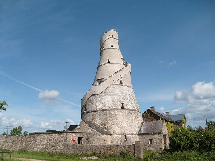 The Wonderful Barn, a famine folly in Ireland.