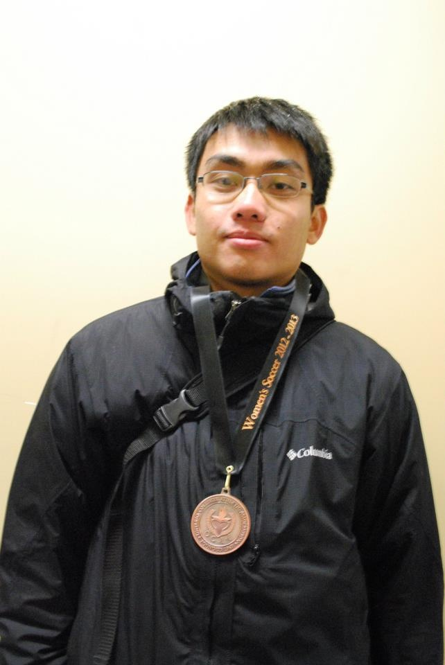 Mike Wong   Athletic Therapy Student (Women's Soccer)