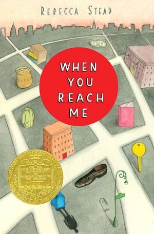 When You Reach Me, by Rebecca Stead - a little bit of sci-fi with the time travel and Wrinkle in Time references.