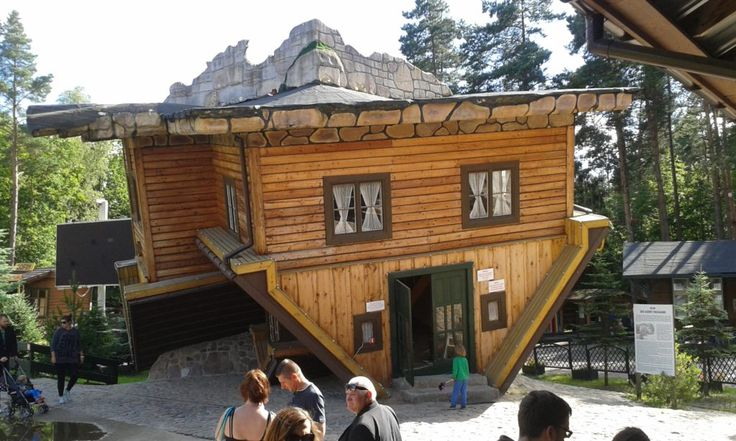Odwrócony dom – Szymbark   Oszczędzanie & Biznes