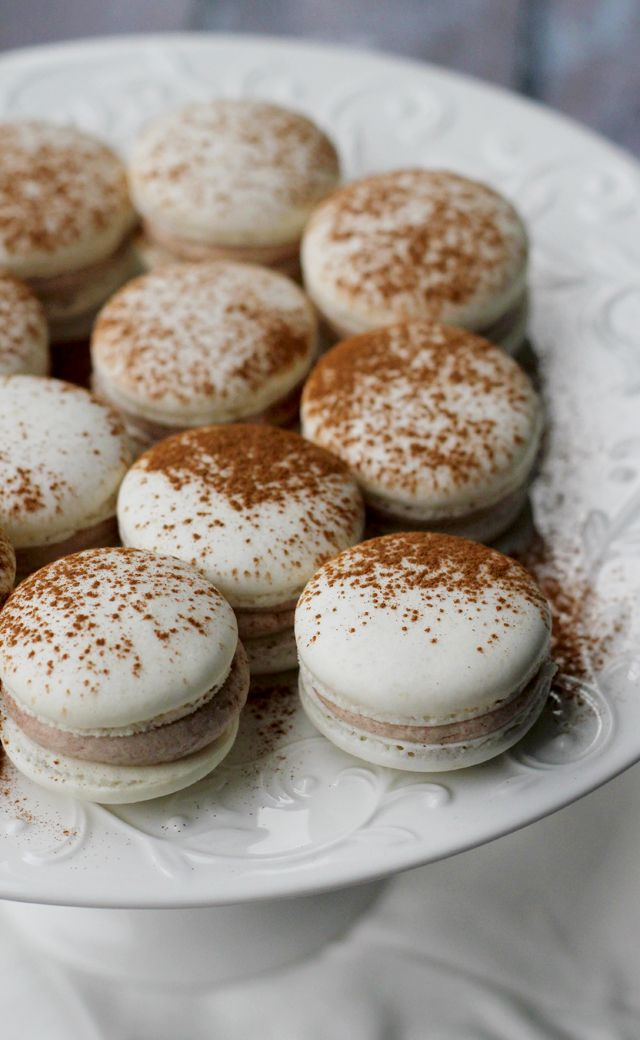 Snickerdoodle Macarons - When we finally get into a house, I'm going to perfect the macaron.   I love them so much, I don't know why I haven't learned how to make them.