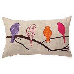 bird applique   tesco applique birds cushion tesco applique birds cushion catalogue ...