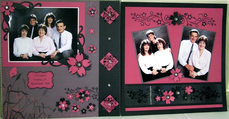 Asian Spring layout designed by Simone Slater - My family