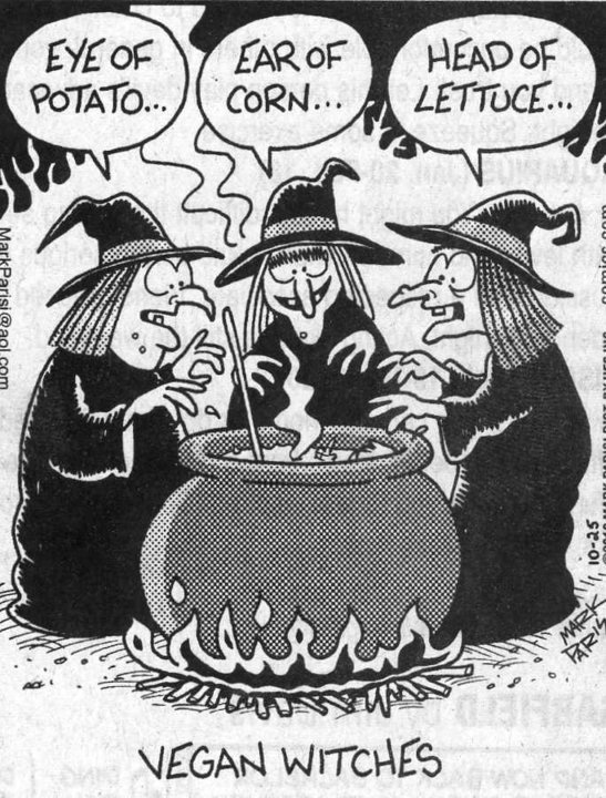 Vegan Witches: Witch Brewing, Laughing, Vegans Witch, Funny Humor, Giggles, Funny Stuff, Vegans Humor, Things, Happy Halloween