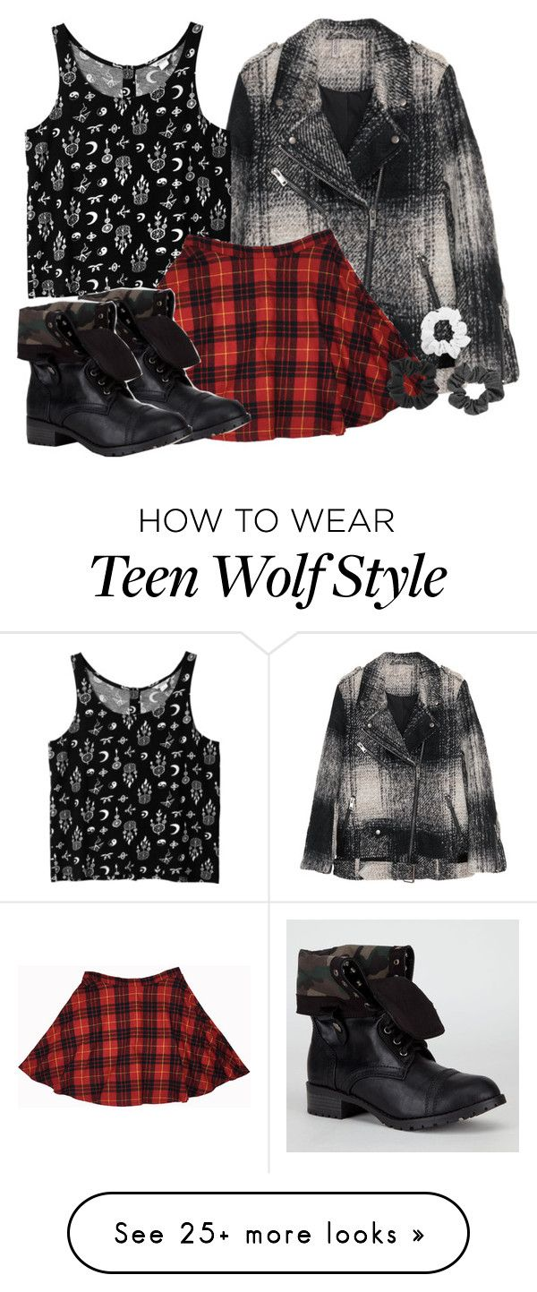 """Kira Inspired Outfit - Teen Wolf"" by clawsandclothes on Polyvore featuring H&M, Monki and Soda"