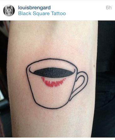 Louis Brengard - coffee cup