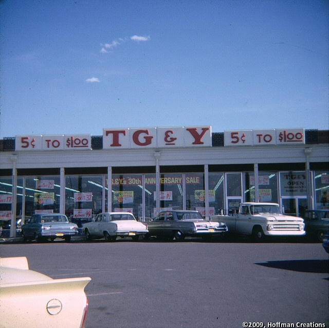 Classic TG & Y Family Center - got all my school supplies here when I was a kid