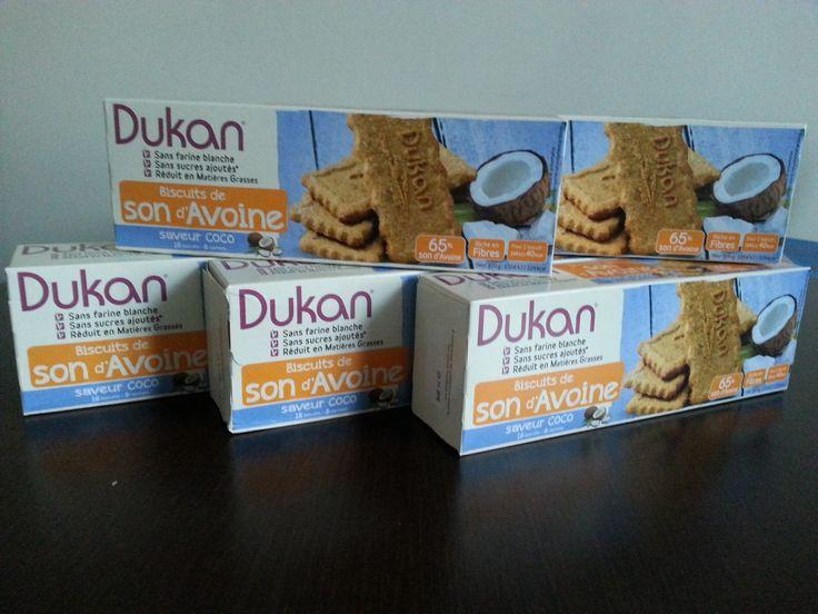 dukan sušenky s příchutí-kokos