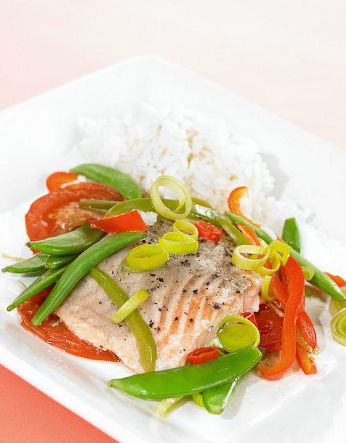 En god fiskepakke med masse smak og gode, friske grønnsaker.