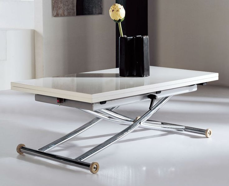 Transforming Table Space Saver   Expand Furniture   Double Your Table Area  For Dinner, Or