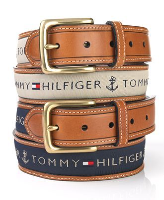 Tommy Hilfiger Belt. Like the nautical feel