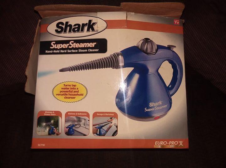 Shark Euro Pro Portable Supersteamer Model Sc710s Hand Held Hard