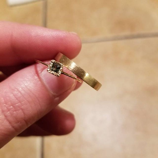 This ring is lovely and the perfect compliment to my wedding band! Thank you so much!