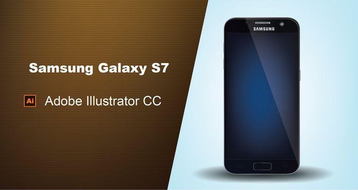 Galaxy S7 - [Adobe Illustrator speed drawing]