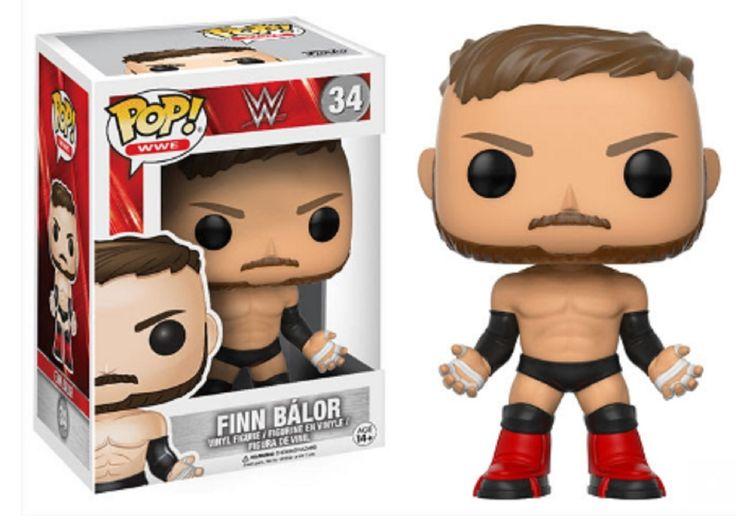 Partytoyz Inc. - Pre-Order Now! Funko Pop! WWE Finn Balor Vinyl Figure Toy