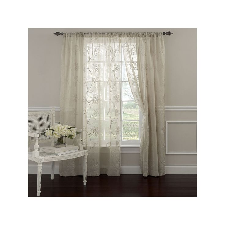 25+ Best Ideas About Sheer Curtains On Pinterest