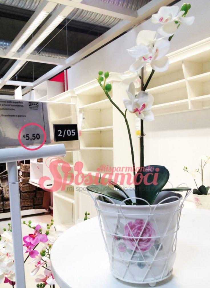 10 prodotti ikea pi usati per decorare un matrimonio - Ikea centrotavola ...