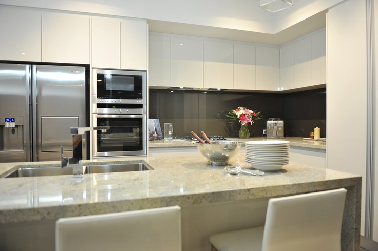 Kitchen in the display home.