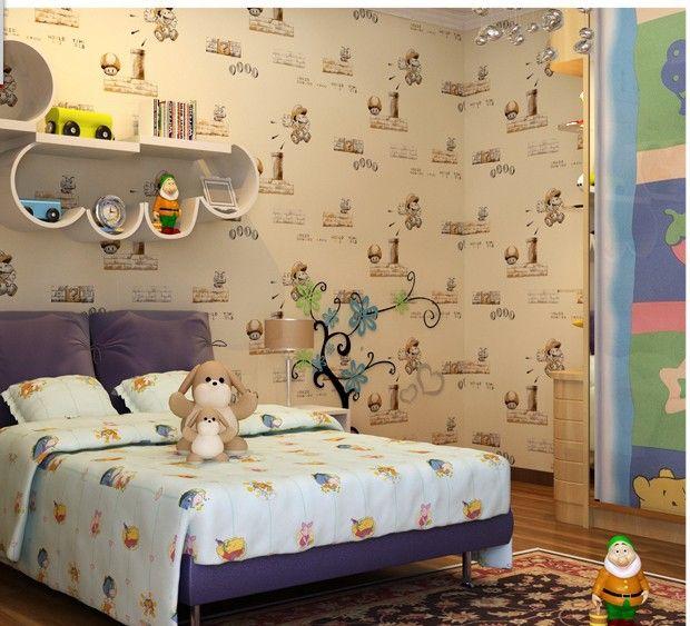 Дети стена клеи обои дети обои спальня стена обои бумага parede дети дети мальчик нет - плетеная ткань обои