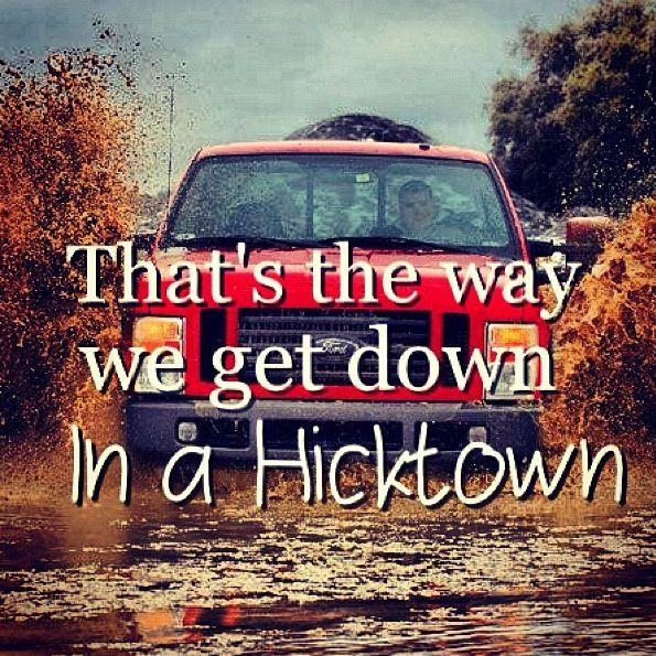 In a hicktown