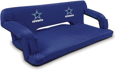 Picnic Time NFL Dallas Cow Travel Couch