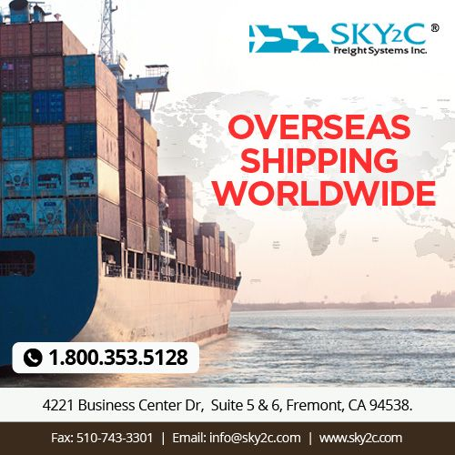 Sky2c Freight System is an International Sea & Air Shipping Company provides overseas shipping services from USA to any country .