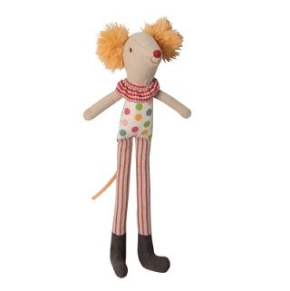 MAILEG CIRCUS STILT CLOWN - $25.95 - From the children's Circus range this Circus Stilt Clown is perfect for stimulating young minds and develop imaginative thinking and play. Your little one will love to play with the circus characters and perform their very own circus show.  Also a perfect display touch and addition to your child's nursery, bedroom or playroom.   Made from 100% Cotton   Height - 20cm #sweetcreations #kids #gifts #maileg #circus