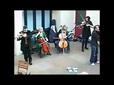 Orchestra deals with rude cell caller like a BOSS! - YouTube
