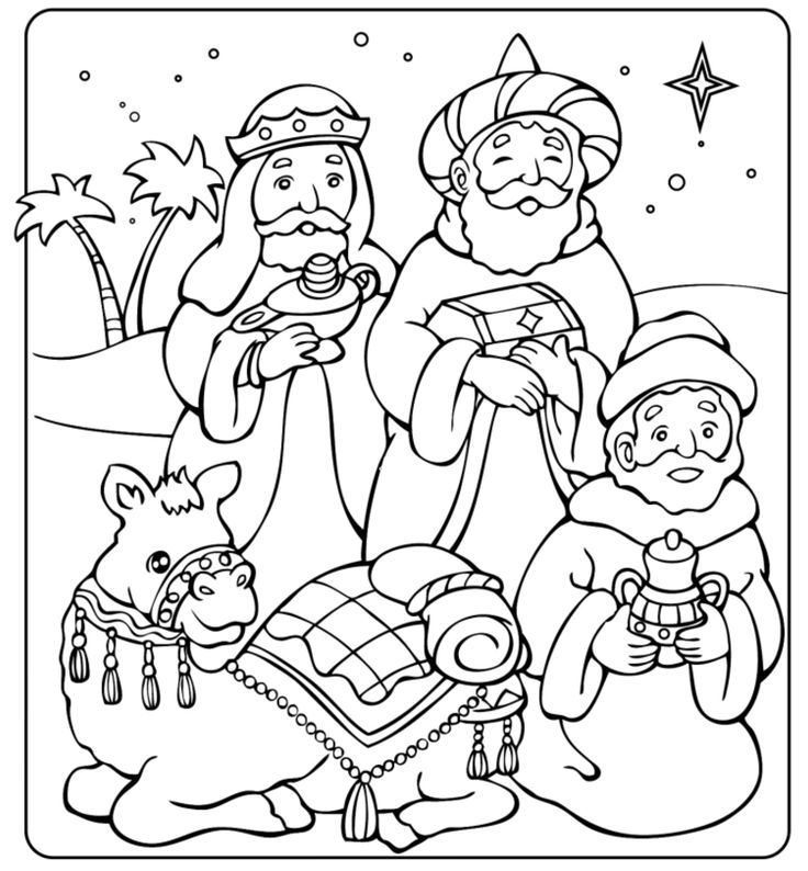 epiphany coloring pages free - photo#5