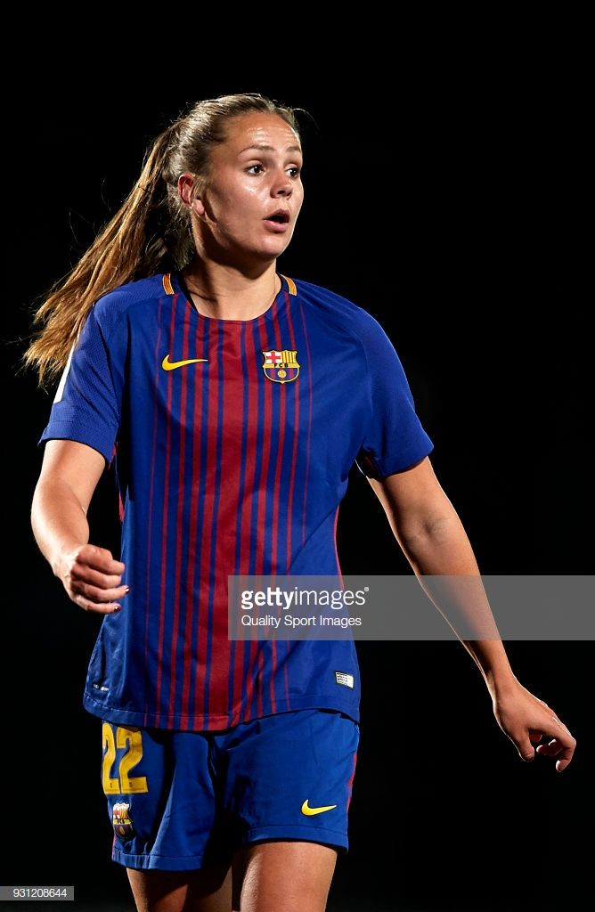 01e3787ac Lieke Martens of Barcelona looks on during the Liga Femenina match between  FC Barcelona Women and Atletico de Madrid Women at Ciutat Esportiva Joan  Gamper ...