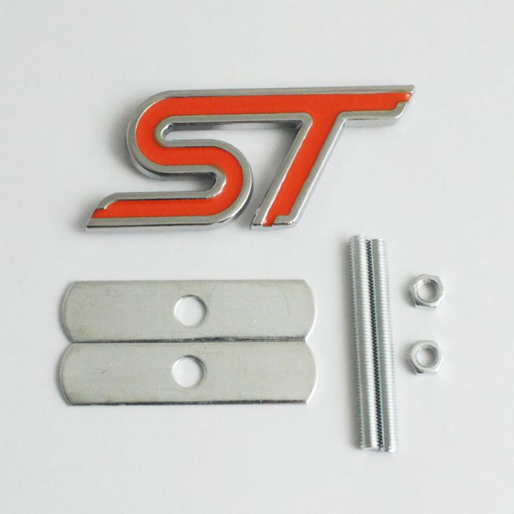 FOR FORD FIESTA FOCUS MONDEO ST CAR FRONT GRILL GRILLE EMBLEM BADGE CHROME&RED♦️ SMS - F A S H I O N 💢👉🏿 http://www.sms.hr/products/for-ford-fiesta-focus-mondeo-st-car-front-grill-grille-emblem-badge-chromered/ US $2.63